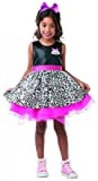 Lol Surprise - Disfraz Diva para niñas, 5-6 años (Rubies 300146-M)