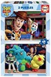 Educa- Toy Story 4 2 Puzzles infantiles de 48 piezas, a partir de 4 años (18106)