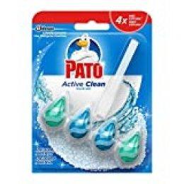 Pato - Active Clean colgador para inodoro, frescor intenso, perfuma y desinfecta, aroma Marine, 1 unidad [Todos los aromas]