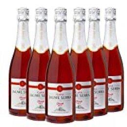 Jaume Serra Cava Rosado Brut D.O. Cava - Pack de 6 Botellas x 750 ml