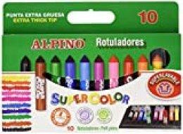 Alpino AR000011 - Estuche Supercolor, 10 unidades