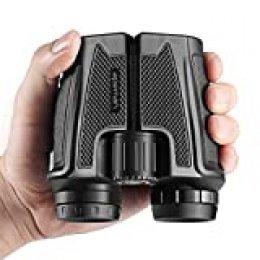 APEMAN 12x25 Prismáticos Binoculares Plegable,Mini Prismáticos Portátiles Compactos Ligeros para Adultos y Niños con Vidrio Óptico y Película FMC Verde
