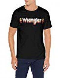 Wrangler Graphic Logo tee Camiseta para Hombre