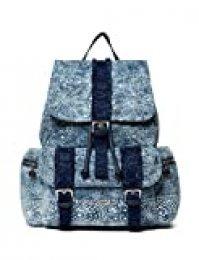 Desigual Back_galaxy Tribeca - Mochila para mujer, 15 x 36 x 29 cm, color azul marino