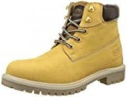 Dockers by Gerli 35fn699-300910 - botas y botines de tacón bajo Unisex adulto, Amarillo - Gelb (GOLDEN Tan 910), EU 45