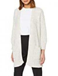 Herrlicher Jael Strucured Wool Chaqueta Punto, Beige (Offwhite 61), 38 (Talla del Fabricante: Small) para Mujer