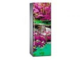 Oedim - Vinilo para Frigorífico Cascada 185x60cm | Adhesivo Resistente y Económico | Pegatina Adhesiva Decorativa de Diseño Elegante