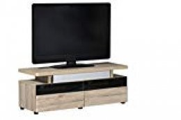 "Marca Amazon - Movian Spey - Mueble para TV de hasta 55"", 120 x 42 x 45 cm, efecto de roble San Remo"