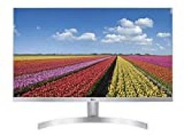 "LG 27MK600M-W - Monitor FHD de 68,6 cm (27"") con Panel IPS (1920 x 1080 píxeles, 16:9, 250 cd/m², NTSC >72%, 1000:1, 5 ms, 75 Hz) Color Blanco"