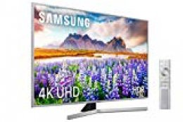 "Samsung 4K UHD 2019 43RU7475 - Smart TV de 43"" [serie RU7400], Wide Viewing Angle, HDR (HDR10+), Procesador 4K, Diseño Metálico, Premium One Remote, Apple TV y compatible con Alexa"