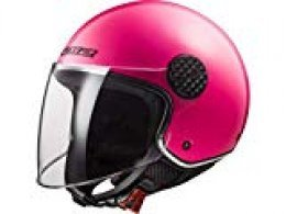 LS2 Casco de moto OF558 SPHERE LUX rosa, fucsia, XS