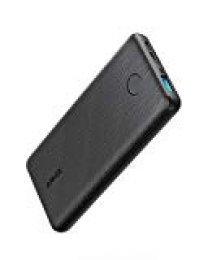 Anker Cargador portátil Ultrafino PowerCore Slim 10000, batería Externa compacta de 10000 mAh, tecnología de Carga de Gran Velocidad PowerIQ y VoltageBoost, batería para iPhone, Samsung Galaxy