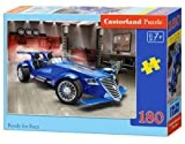 Castor País B de 018406 Ready For Race, 180 piezas puzzle, multicolor , color/modelo surtido