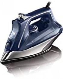Rowenta DW8215D1 Pro Master - Plancha de Vapor, 2800 W con Golpe de Vapor 200 g/min y Vapor Continuo de 40 g/min, Suela Ultradeslizante, Modo Eco y Sistema Antical Integrado