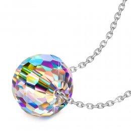 """Alex Perry""""Mundo Fantástico"""" 925 Plata Aurore Boreale Fabricados con Cristales Swarovski Colgante Collar Mujer"""