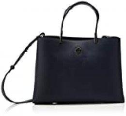 Tommy Hilfiger - Th Core Satchel, Bolsos maletín Mujer, Azul (Sky Captain), 1x1x1 cm (W x H L)