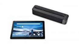"""Lenovo Smart Tab M10 - Tablet de 10.1"""" FullHD con Amazon Alexa integrada (Snapdragon 450, 3 GB de RAM, Memoria Interna 32GB, Android, Wifi + Bluetooth 4.2), Color negro + Altavoz Dolby Atmos incluido"""