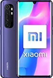 "Xiaomi Mi Note 10 Lite (Pantalla FHD+ 6.47"", 6GB + 64GB; Cámara 64MP, Snapdragon 730G, Dual 4G, 5260mAh con Carga rápida 30W, Android 10) Púrpura [versión española]"