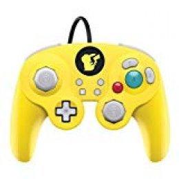 PDP - Mando Smash Pad Pro Con Cable, Pikachu (Nintendo Switch)
