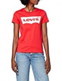 Levi's The tee Camiseta, Rojo (BRW T2 Tomato 0792), X-Small para Mujer