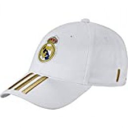 adidas DY7720_Única Hat, Unisex Adulto, White/Dark Football Gold, Talla