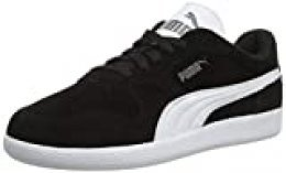 PUMA ICRA Trainer SD, Zapatillas Unisex Adulto, Negro (Black-White), 42 EU
