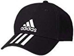 adidas 6p 3s Cap Cotto Hat, Unisex Adulto, Black/White/White, OSFM