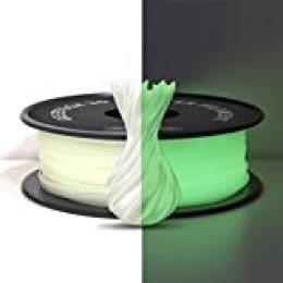 PLA Filamento 1.75mm, Brilla verde en la oscuridad, filamento de la impresora GEEETECH 3D filamento 1 kg