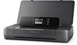 HP OfficeJet 200 Mobiler Impresora de inyección de tinta (A4, impresora, WLAN, HP ePrint, Airprint, USB, 4800 x 1200 ppp) negro