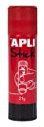 Apli Kids 12146 Pegamento de barra, Rojo, 21 g