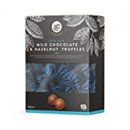 Marca Amazon - Happy Belly Select Bombones de chocolate con leche y avellanas 1x665g