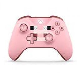 Microsoft - Mando Inalámbrico: Edición Limitada Minecraft Pig (Xbox One), rosa