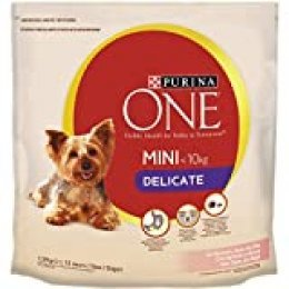 Purina One - My Dog Is Perro Mini Delicate Salmón y Arroz, 6*1.5 KG