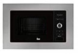 Teka MWE 225 FI -  Microondas de integración+ Grill de 20L, 800 W, Botones, Acero inoxidable