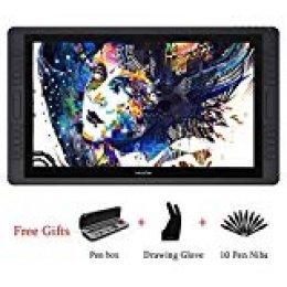 HUION KAMVAS GT-221 Pro HD IPS Tableta Gráfica Profesional Pantalla para Lápiz Monitor con 8192 Sensibilidad de Presión del Lápiz y 10 Teclas de Accesos Directos 1 Barras Táctiles … (GT-221 Pro)
