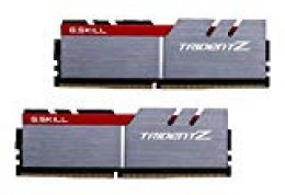 G.Skill 8GB DDR4 8GB DDR4 3200MHz módulo de - Memoria (8 GB, 2 x 4 GB, DDR4, 3200 MHz, Gris, Negro, Rojo) [Alemania]