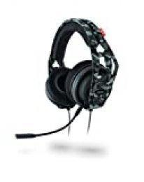 Plantronics RIG 400HX Binaurale Diadema Camuflaje Auricular con micrófono - Auriculares con micrófono (Consola de Juegos, Binaurale, Diadema, Camuflaje, Dinámico, Control en línea)