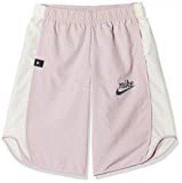 NIKE G NSW Icon Culotte Tempo Pantalones Cortos de Deporte, Niñas, Plum Chalk, S