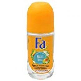 Fa - Desodorante Roll-On Bali Kiss - Con fragancia de mango y flor de vainilla - 50 ml