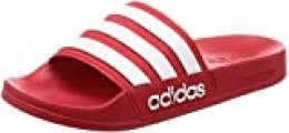 Adidas Adilette Shower Chanclas Hombre, Rojo (Escarl/Ftwbla/Escarl 000), 40 1/2 EU (7 UK)