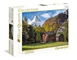 Clementoni 32561 Espectacular Matterhorn – Museum Collection Puzzle, 2000 Piezas