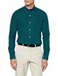 Izod Gingham BD Shirt Camisa Casual para Hombre
