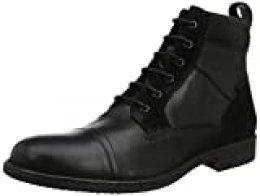 Geox U Jaylon E, Botas Clasicas para Hombre, Negro (Black C9999), 42 EU