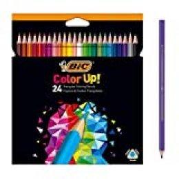 BIC Color Up lápices de colores surtidos, blíster de 24 unidades (950528)