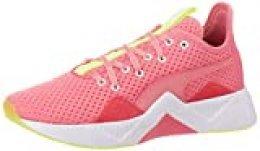 PUMA Incite FS Jelly WN'S, Zapatillas Deportivas para Interior para Mujer, Rosa (Bubblegum/Yellow Alert White), 38 EU