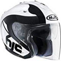 HJC-Cascos de Motocicleta-Casco FG-Jet Acadia MC5, Hombre Mujer, Small