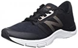 New Balance 715v3, Zapatillas Deportivas para Interior para Mujer, Negro (Black/Gold), 44 EU