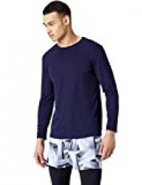 Marca Amazon - find. Camiseta Transpirable Deporte Hombre