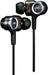 JVC HA-FXZ100-E - Auriculares (Intraaural, Dentro de oído, 150 mW, Alámbrico, 1.2m, Oro) Negro