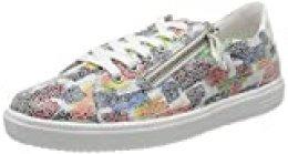 Remonte D1401, Zapatillas para Mujer, Multicolor (Weiss-Multi/Bianco 90), 41 EU